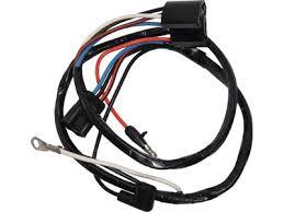 65 mustang alternator wiring harness 8 cylinder w warning lights