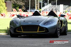 aston martin concept cars aston martin cc100 speedster crowned