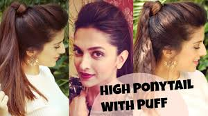 easy indian hairstyles for school indian hairstyle of college girls 3 easy everyday high ponytail
