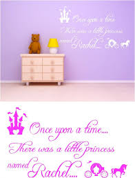 once upon a time personalised kids vinyl wall art stickers once upon a time personalised kids vinyl wall art stickers graphics