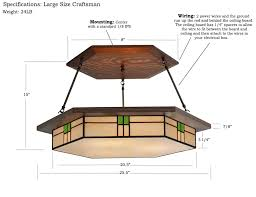 Chandeliers Craftsman Style Craftsman Style Chandeliers Handcrafted Light Fixture Mission