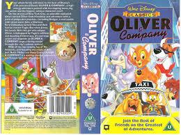 oliver company 1997 uk vhs