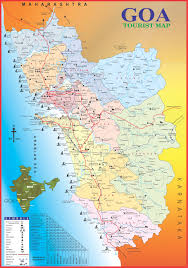 Map Your Road Trip Goa Tourism Others Map Of Goa