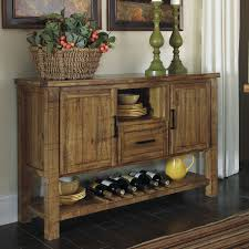 Dining Room Sideboard by Kitchen Dining Room Sideboard Server Table Wine Storage Country