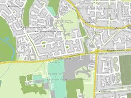Norwich University Map Norwich Earlham Green Lane Hutchinson Road Bus Stop Norwich