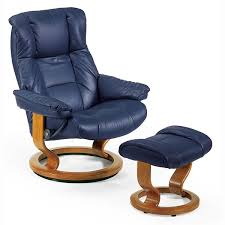 Recliner Chair With Ottoman Stressless Mayfair Medium Recliner And Ottoman Classic Base
