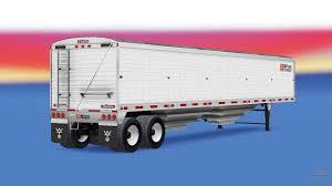 semi trailer truck semi trailer wilson for american truck simulator