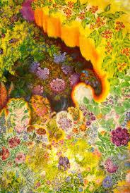 Decorative Flowers by Decorative Flowers 1945 Kateryna Bilokur Wikiart Org