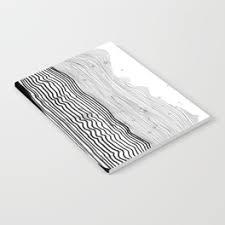 pattern play notebooks minimalist mountains notebook by thespiritofart society6