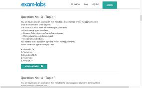 70 483 microsoft real exam questions 100 free exam labs