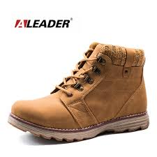Comfortable Stylish Work Shoes Aleader Casual Autumn Boots Women Fashion Work Shoes Wool Collar