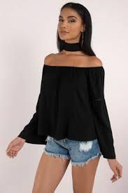 shoulder tops black shirt black shirt shoulder shirt black top