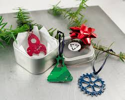 circuit board science ornament gift set geeky