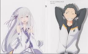 subaru and emilia re zero kara hajimeru isekai seikatsu re zero starting life in