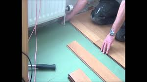 Laminate Flooring Fitted Part 3 Complete Click Floor Installation Fitting Around Radiator