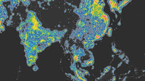 Light Polution Map Light Pollution U0027affects 80 Of Global Population U0027 Bbc News