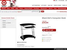 Kid Computer Desk Target Is Black Kid S Computer Desk Mindskin