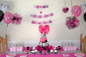 Mod Baby Shower by Zebra Baby Shower Decorations Best Baby Decoration