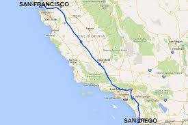 Amtrak Usa Map by San Diego To San Francisco All The Ways To Travel