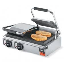 Italian Toaster Vollrath 40794 Italian Panini Grill Grooved Upper And Lower Cast