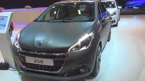 new peugeot automatic cars peugeot new 208 allure 1 2 puretech eat6 gray 2015 exterior and