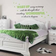 bedroom decor decorations engaging wall decal decorating idea