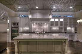 tin ceiling tile backsplash