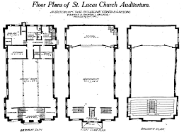 Floor Plan Of A Church by Historic Evansville Tag Stlucashall