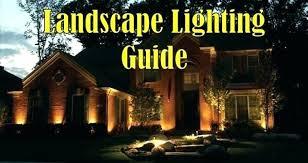 How To Install Low Voltage Led Landscape Lighting Led Landscape Lighting 120 Volt Landscape Lighting Volt Landscape