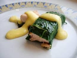 comment cuisiner les cotes de bettes cuisine facile com saumon roulé aux feuilles de bettes