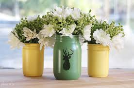 jar vases note diy jar vases