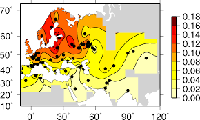 Genetic Map Of Europe by