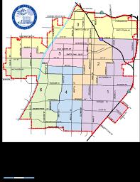 santa california map city council ward map city of santa