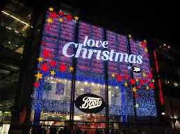 file oxford street boots store christmas decorations 2011 jpg