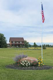 Seasonal Designs Flag Pole How To Add An In Ground Flagpole U0026 Landscape Around It Creative
