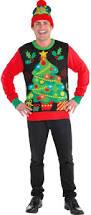 men u0027s ugly christmas shirts u0026 accessories party city