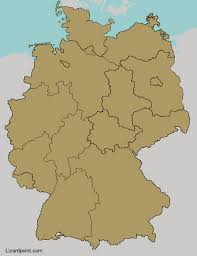 map of countries surrounding germany test your geography knowledge germany states lizard point