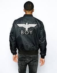 Boys Leather Bomber Jacket Boy London Boy London Reversible Ma1 Bomber Jacket
