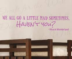 decals for the wall stickers alice in wonderland we all go little