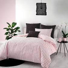 point pink quilt cover set by deco linen house