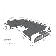 wohnzimmer couch xxl ecksofa big sofa xxl stoff wohnlandschaft couchgarnitur matera led