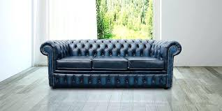 Vintage Chesterfield Sofa For Sale Leather Chesterfield Sofa Or Chesterfield 3 Antique Blue Leather