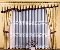 mod鑞e de rideaux de cuisine modele rideau cuisine excellent feuilles chanceux feng