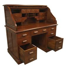 bureau writing desk roll top bureau mahogany akd furniture