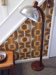 Pine Floor Lamp by Gb Solbackens Svarveri Swedish Retro Pine Floor Lamp In