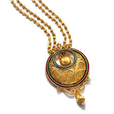 necklace pendant design gold images Latest pendant designs in gold polki pendant designs gold pendant jpg