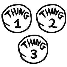 dr seuss coloring pages thing 1 and thing 2 clipart panda free