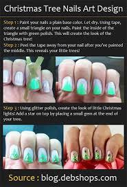 easy u0026 simple christmas tree nail art tutorials 2013 2014 for