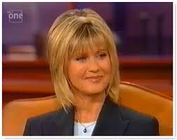 olivia newton john hairstyles oprah 1998 05 01 olivia newton john video archive