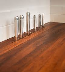 How To Install Butcher Block Countertops by Knife Block In Butcher Block Counter Tops Fits Into The Space